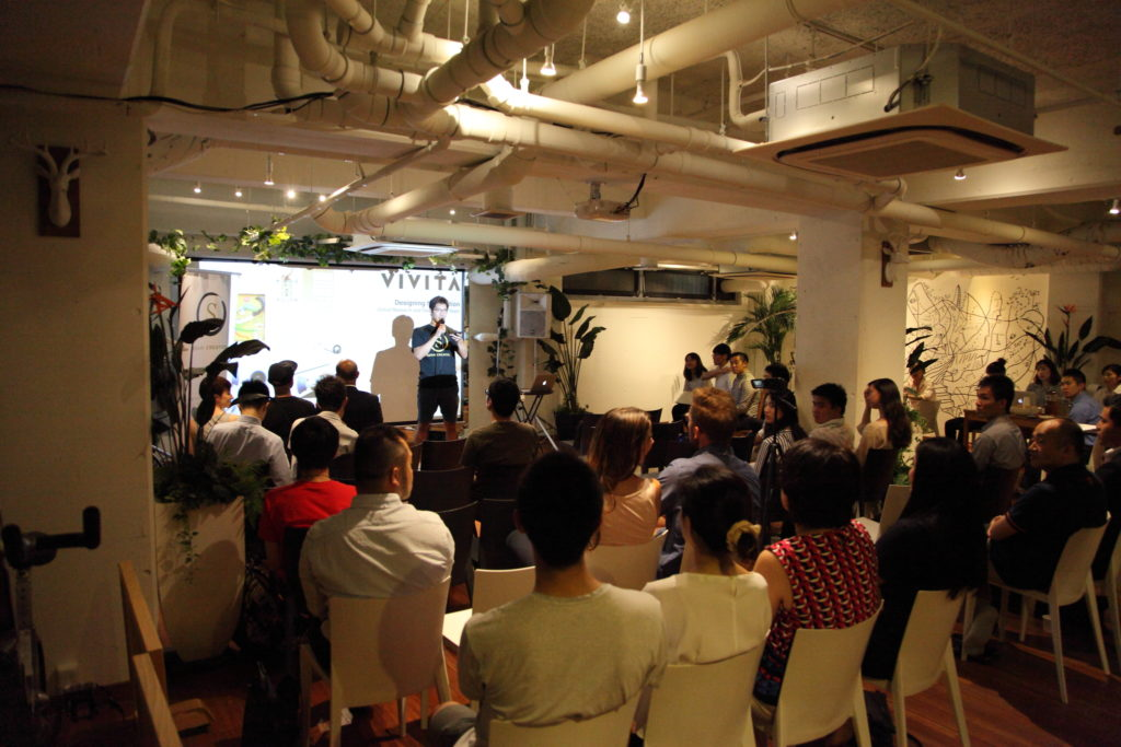 presentations at Sekai creator event