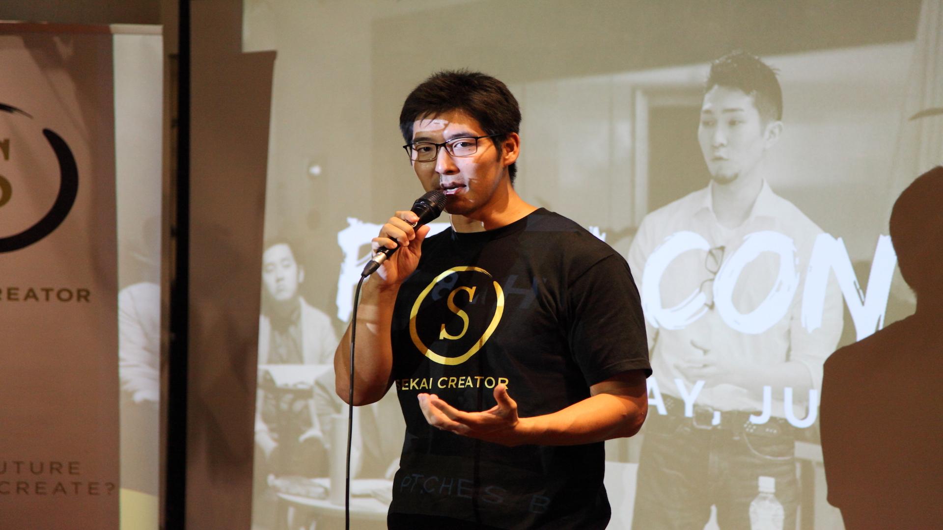 Sekai Creator Founder Steve Sakanashi