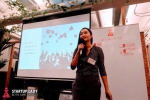 Amee Xu Startup Lady Japan