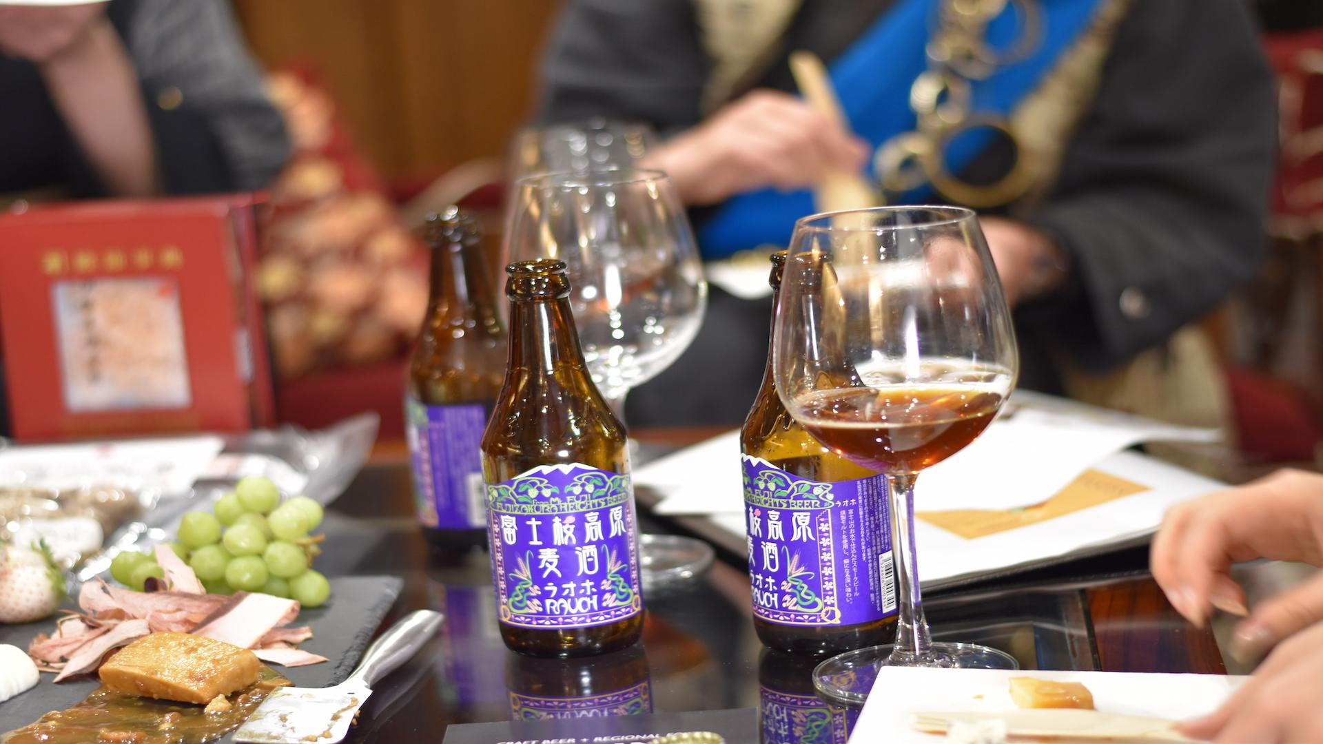 beer pairing in Tokyo