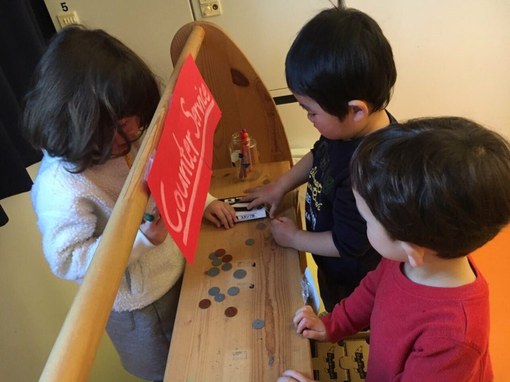 Play Based Learning at English Preschool in Tokyo