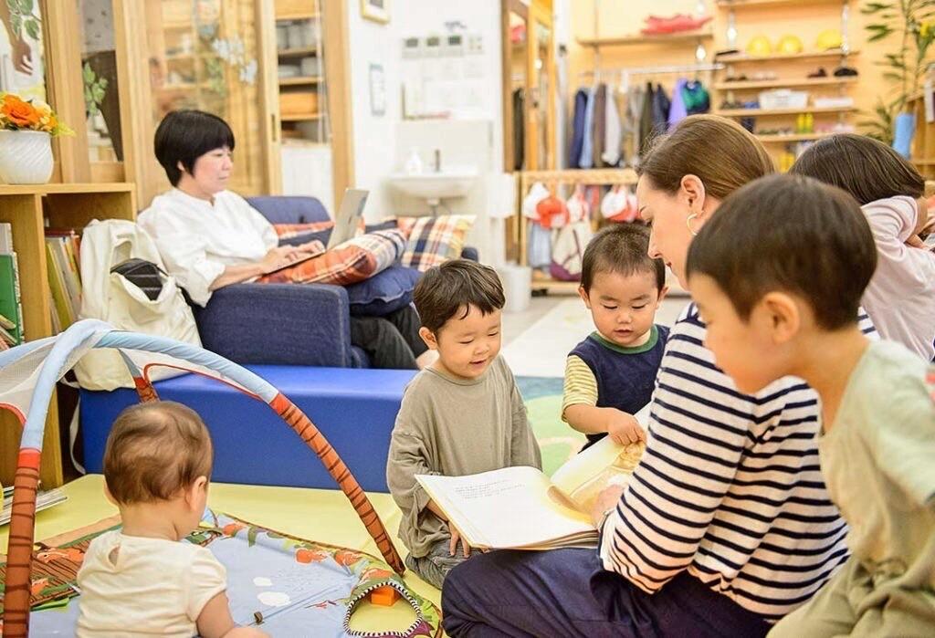 English Preschool Kids in Tokyo