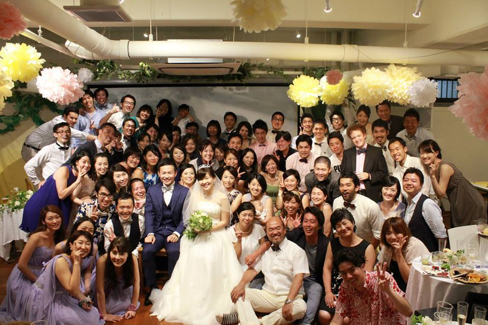 wedding event in ryozan park white room