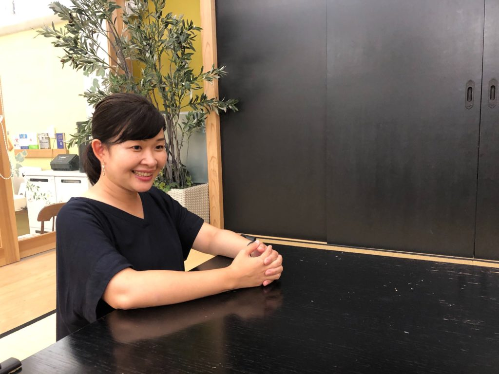preschool teacher Yumi